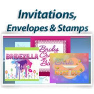 Invitations, Envelopes & Postage