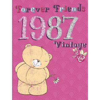 Forever Friends pink vintage bear