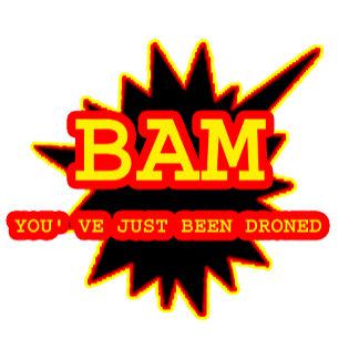 !!!Bam I've been DRONED  jGibney The MUSEUM Zazzl