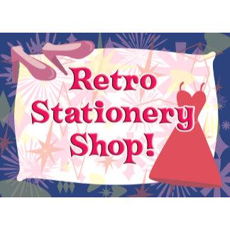 Retro Stationery Shop 1