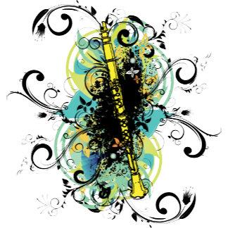 Swirl Grunge Clarinet