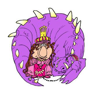Cute Princess & Pet Dragon