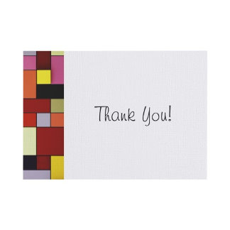 /modern and chic/ Flat Note Cards
