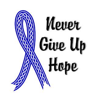 Celtic Never Give Up Hope Rectal Cancer