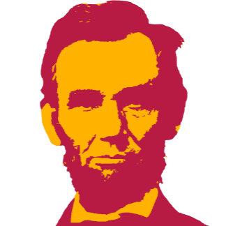 ➢ Abraham Lincoln in Orange & Red