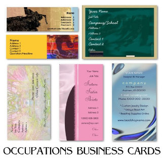 OCCUPATIONS Business Cards