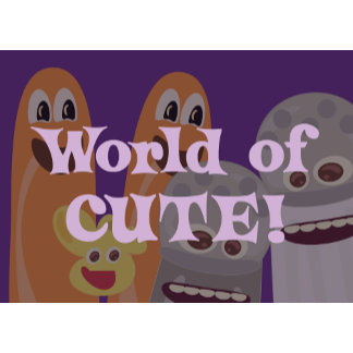Cute Food Characters