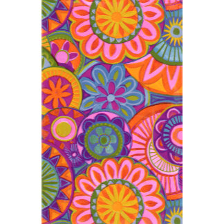 """Bright Flowers Pattern Poster Print"""