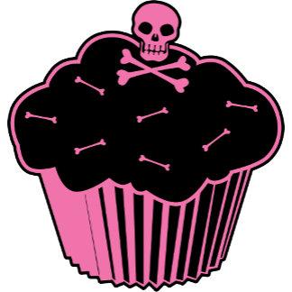 Pink Poison Cupcake