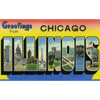 Greetings from Chicago Illinois