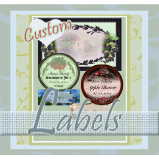 Labels  for Canning, Spice Jars and more