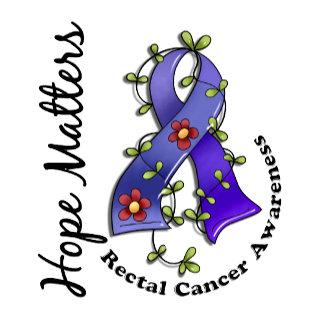 Flower Ribbon 4 Hope Matters Rectal Cancer
