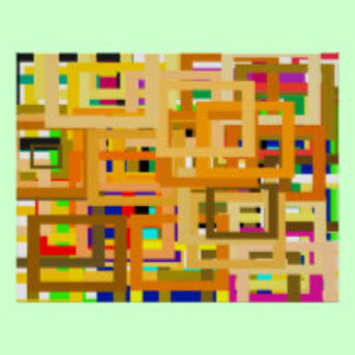 107 Color Frames jGibney The MUSEUM Zazzle Gifts