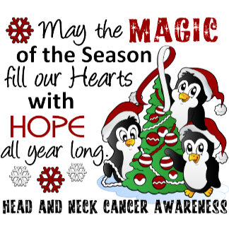 Christmas Penguins Head and Neck Cancer