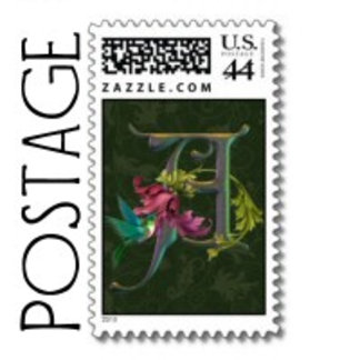 Stamps with Initials