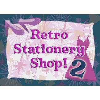 Retro Stationery Shop 2