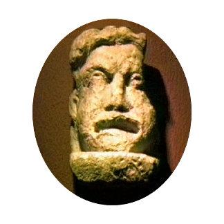 Bath England 1986 Roman Man Statue1 snap-17443 jGi