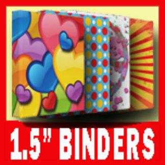 """1.5"""" BINDERS"""