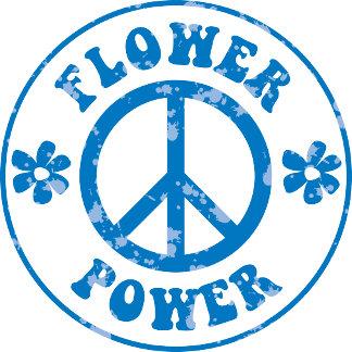Peace - Love - Flower Power