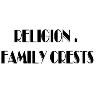 RELIGION - FAMILY CRESTS