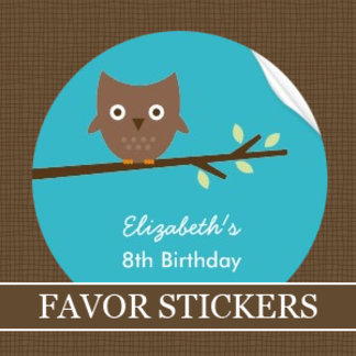 Favor Stickers