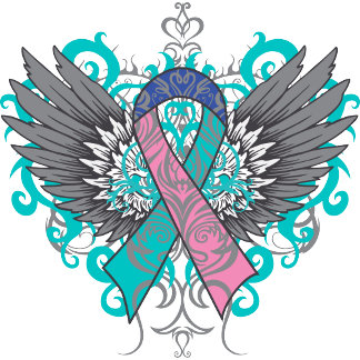 Thyroid Cancer Cool Wings