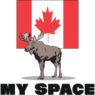 My Space Canada T-Shirt Gifts Cards