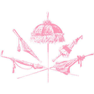 Old Fashioned Pink Parasols