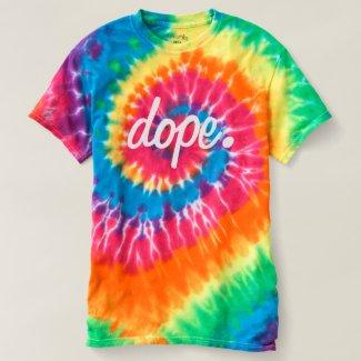Tie Dye Rainbow/Pastel dope. Summer T-Shirt