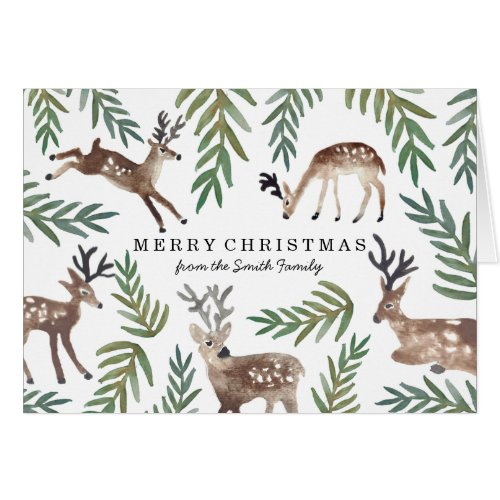 Loved Dearly Personalised Christmas Card