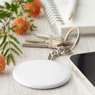 Key Ring, Basic Button Key Ring