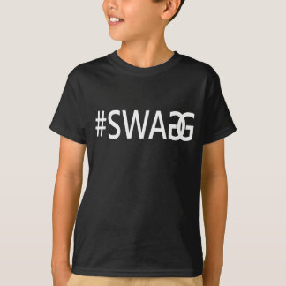 #SWAG / SWAGG Funny Trendy Quotes, Cool Boy's Tee