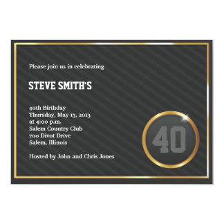Swagger Party Invitation
