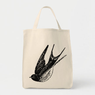 Swallow Grocery Tote Bag