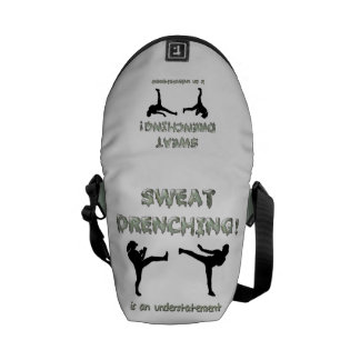 Sweat Drenching Kickboxing! is an understatement Commuter Bags