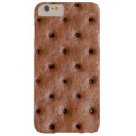 Sweet and Funny Ice Cream Sandwich Pattern Barely There iPhone 6 Plus Case