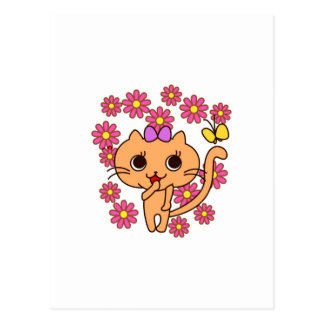SWEET KITTY POSTCARD