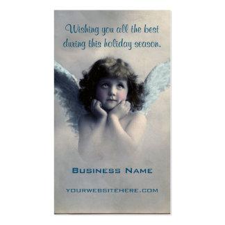 Sweet Vintage Christmas Angel Pack Of Standard Business Cards