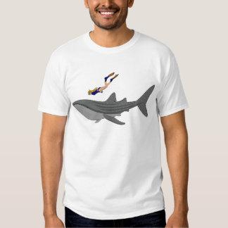 Swimming with Whaleshark Shirts