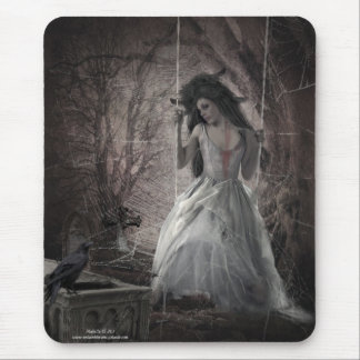 Swing The Time Away Mouse Pad