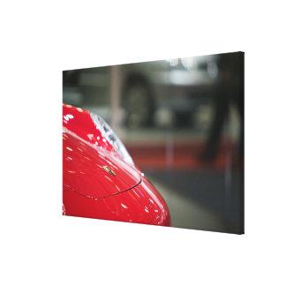 SWITZERLAND, GENEVA: 75th Annual Geneva Auto 2 Gallery Wrapped Canvas