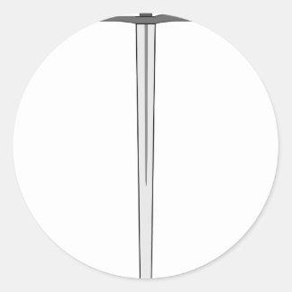 Sword #2 round sticker