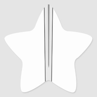 Sword #2 star sticker