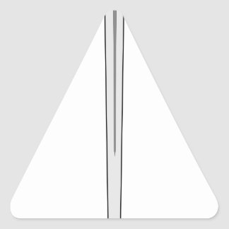 Sword #2 triangle sticker