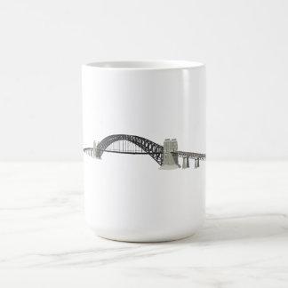 Sydney Harbour Bridge: 3D Model: Basic White Mug