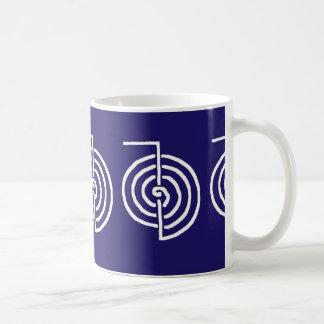 Symbolic Art : Reiki Chokurai Basic White Mug