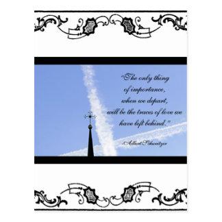 Sympathy Card Postcard