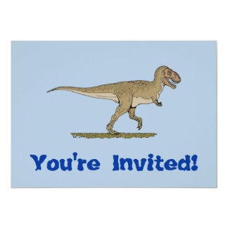 T. rex Invitation