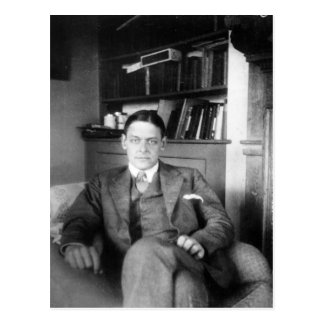 T.S. Eliot Postcard