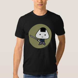 T-shirt - Riceball Samurai - Gold Back